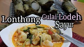 Video Membuat LONTHONG dan GULAI SAYUR Ceker Ayam.  Resep LENGKAP. MP3, 3GP, MP4, WEBM, AVI, FLV Juni 2019