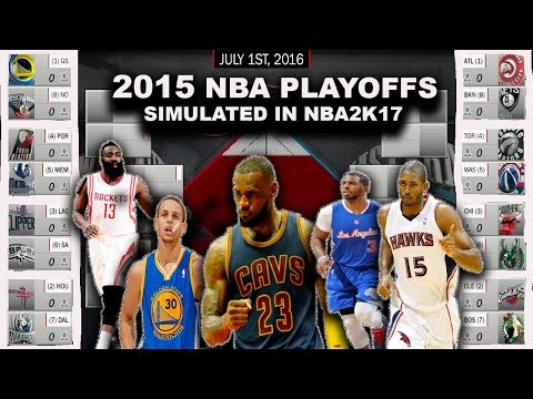 2015 NBA PLAYOFFS SIMULATED ON NBA2K17!!! #ThrowBack