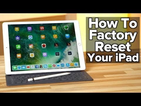 How to Erase and Factory Reset your iPad!