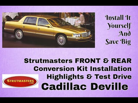 Cadillac DeVille With A Front & Rear Shock And Strut Replacement By Strutmasters / Ride Along