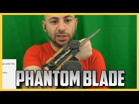 wearing - Ubisoft sent me this badass blade. Wasn't paid to do this video, just thought it'd be cool. Let me know if you guys dig the raw unboxing stuff. Oh yeah, you can buy it here if you want: http://bitl...