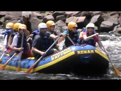 Rafting com as crianças em Itacaré, Bahia