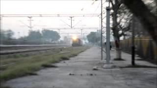 Kuchesar India  city images : IRFCA - Rarest Capture Early Morning Shramjeevi SF Tears Through Kuchesar Road.