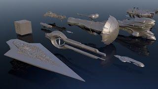 9. Starships size comparison
