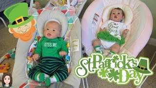 Happy St. Patrick's Day! Changing Shiloh & Declan For St. Paddy's Day | Kelli Maple