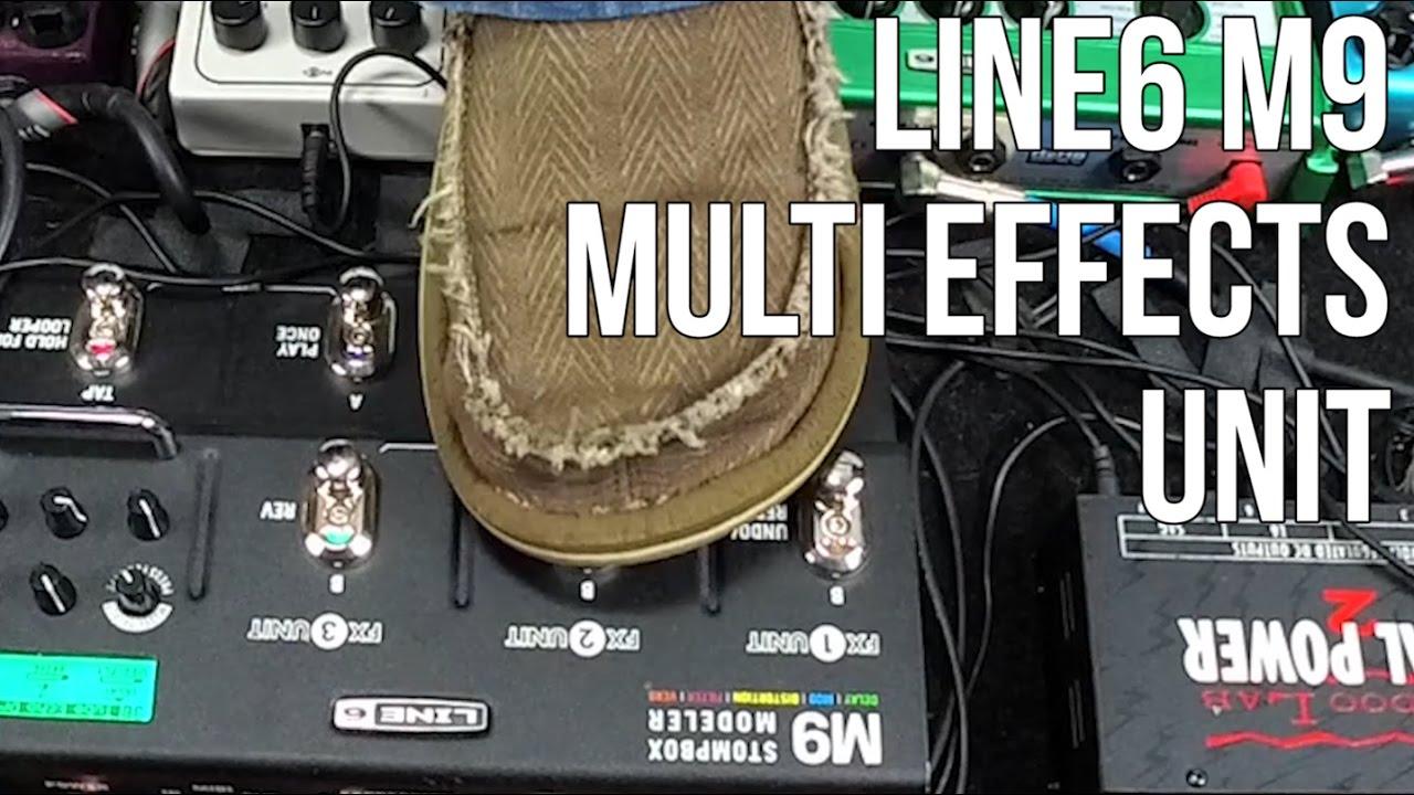 Guitar Gear Videos – Line6 M9 Demo multi effects unit for guitar – Marty Schwartz Gear