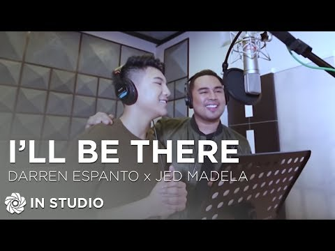 Darren Espanto and Jed Madela - I'll Be There (Recording Session)