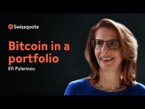 Bitcoin in a portfolio: Narratives & Statistics with Efi Pylarinou | Swissquote