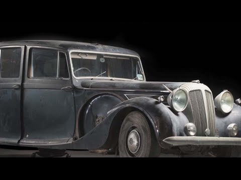 Conserving the Queen's Daimler at the National Museum of Australia