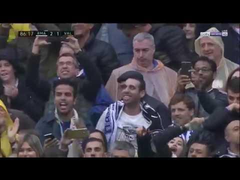 REAL MADRID VS VALENCIA 2-1 GOAL Marcelo 29/04/2017 HD