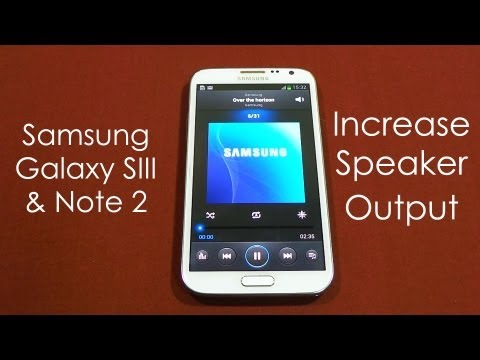 comment augmenter volume galaxy s