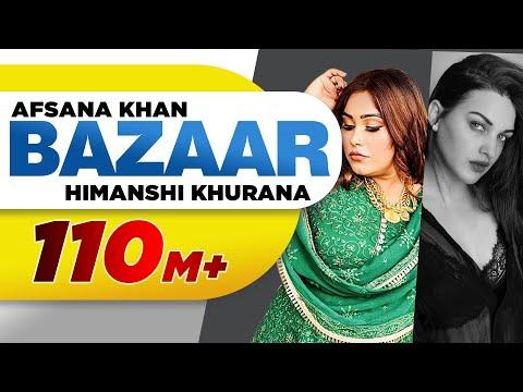 Bazaar (Full Video)| Afsana Khan Ft Himanshi Khurana | Yuvraj Hans | Gold Boy| New Punjabi Song 2020
