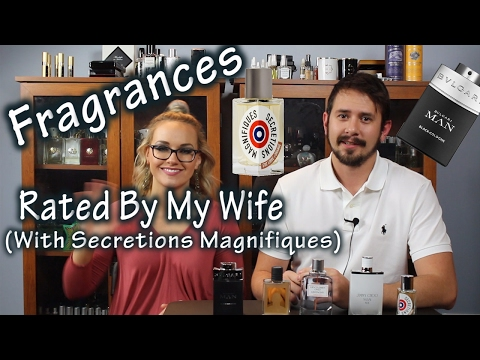 5 Sexy Fragrances Rated By My Wife   Secretions Magnifiques!