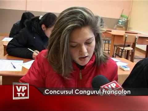 Concursul Cangurul Francofon