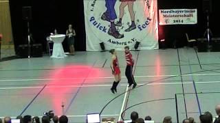 Anna Lena Lindner & Nico Schambeck - Nordbayerische Meisterschaft 2014