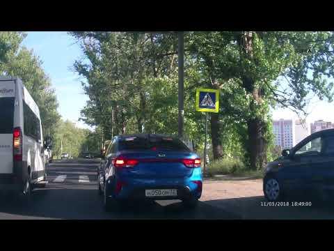 ДТП с мотоциклистом в Брянске на улице Объездная
