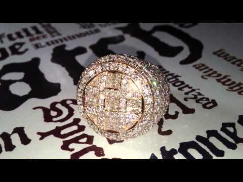 Special Mens Diamond Ring - www.TraxNYC.com