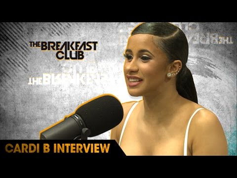 Cardi B Stops Through The Breakfast Club to Talk About Her New Mixtape, Adjusting to Fame & More