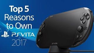Top 5 Reasons to Own a PlayStation Vita | 2017