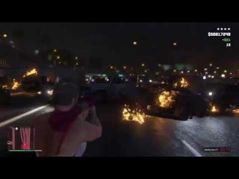 Grand Theft Auto V Carnage