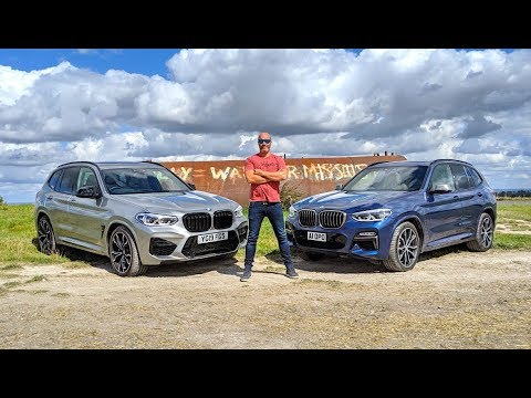 NEW BMW X3M Competition vs X3 M40i | Sports SUV | S58 Engine