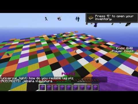 Minecraft Party игры #1 (Весёлые Мини игры) (видео)