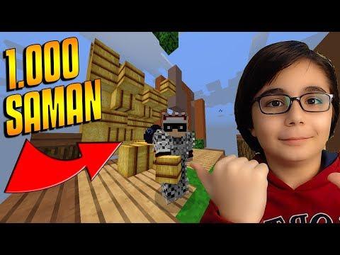 MINECRAFT'TA 1000 SAMAN İLE EGG KAPLAMAK !!! | Minecraft: EGG WARS BKT