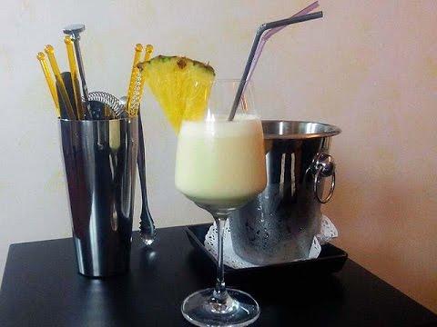 cocktail virgin pina colada - ricetta