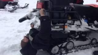 Głupi Rusek i skuter… prawie skończyło się śmiercią!
