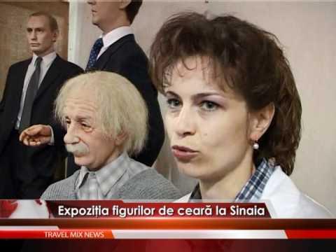 Expoziţia figurilor de ceară, la Sinaia – VIDEO