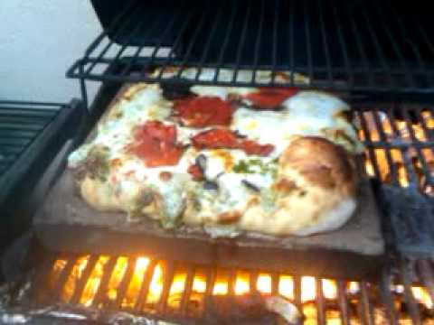 800 degree pizza oven from a gas grill part two