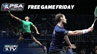 Video ABSOLUTELY EPIC SQUASH GAME - Gaultier v Abouelghar - Free Game Friday MP3, 3GP, MP4, WEBM, AVI, FLV September 2018