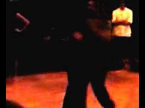 Stephen Burrows & Brandi Ferrebee demo blues dancing
