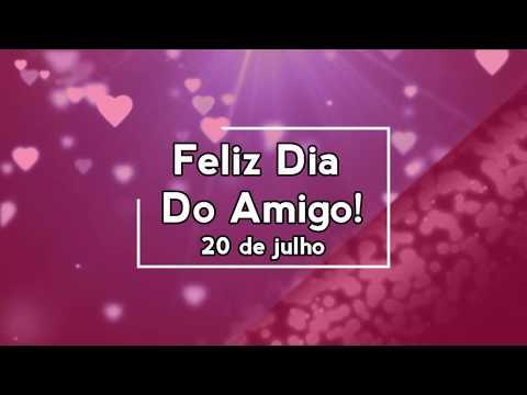 Mensagem para amiga - Feliz dia do amigo! 20 de julho