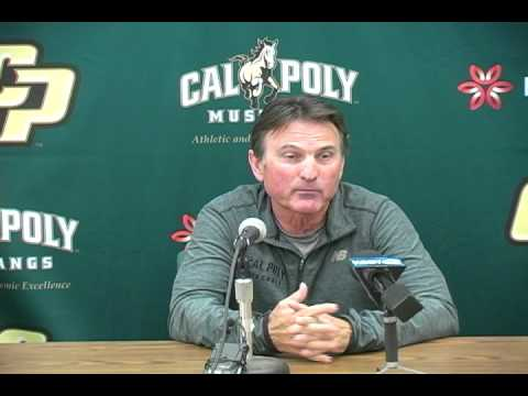 Cal Poly Baseball Head Coach Larry Lee