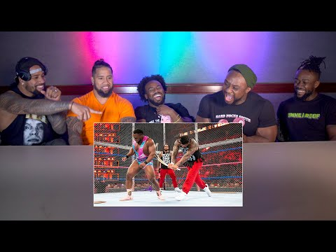 The Usos And The New Day Watch Their Hell In A Cell War: WWE Playback