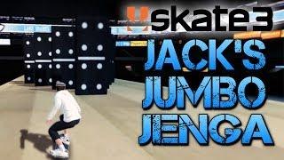 Skate 3 - Part 19 | JACK'S JUMBO JENGA | Skate 3 Funny Moments