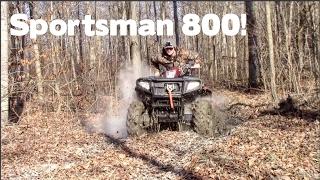 6. Mudding & Trail Riding! || Polaris Sportsman 800 H.O.!!!