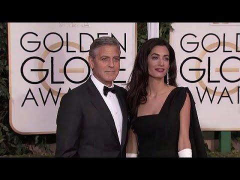 العرب اليوم - شاهد: جورج كلوني وزوجته يتبرعان بنصف مليون دولار للناجين من حادث باركلاند
