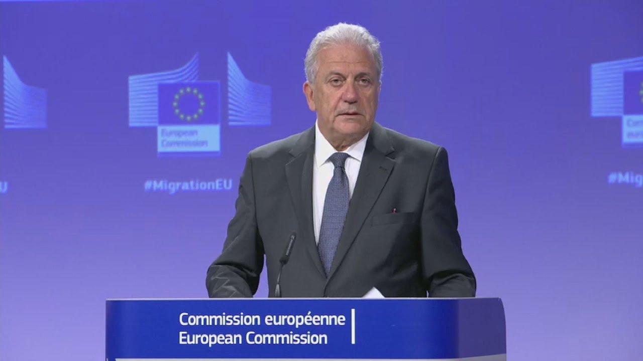 Συνέντευξη Τύπου της Ευρωπαϊκής Επιτροπής από τον επίτροπο Δ. Αβραμόπουλο