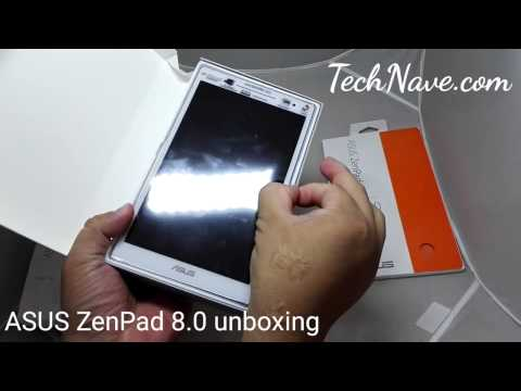 ASUS ZenPad 8.0 Z380KL unboxing at TechNave.com