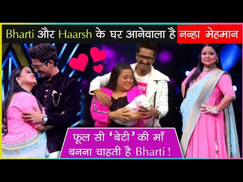 Good News! Bharti Singh And Haarsh Limbachiyaa Soon To Welcome Their Baby Soon?