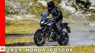 10. 2019 Honda CB500X