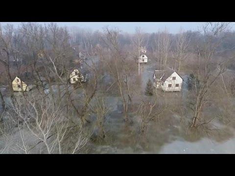 Ουγγαρία: Συναγερμός για πλημμύρες από το λιώσιμο των πάγων