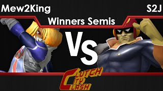 CCC melee – MVG FOX | Mew2King (Sheik) vs TEMPO | S2J (C Falcon) Winners Semi