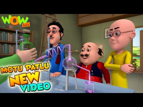 Motu Patlu | Funny Scenes | New videos | Wow Kidz |  Compilation 03