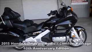 8. 2015 Gold Wing Black SALE / Honda of Chattanooga TN PowerSports Dealer since 1962!