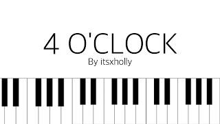 Video 4 O'CLOCK - RM & V - Piano Tutorial MP3, 3GP, MP4, WEBM, AVI, FLV Juli 2018