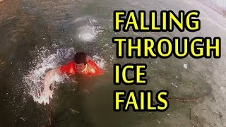 Nonton People Falling Through Ice Compilation 2015  New  Film Subtitle Indonesia Streaming Movie Download