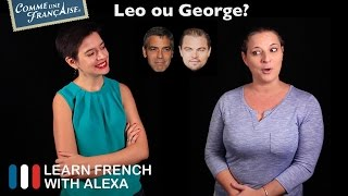 Alexa asks Géraldine from the Comme Une Française YouTube channel some of life's most important questions...----------------------------------------------Check out Comme Une Française here ►https://www.youtube.com/c/commeunefrancaiseTAKE YOUR FRENCH TO THE NEXT LEVELMy Website ► https://learnfrenchwithalexa.comMy YouTube ► http://learnfren.ch/YouTubeLFWAMy Blog ► https://learnfrenchwithalexa.com/blogSupport me on Patreon ► https://patreon.com/frenchTest Yourself ► https://kwiziq.learnfrenchwithalexa.comMy Soundcloud ► https://soundcloud.com/learnfrenchwithalexa----------------------------------------------GET SOCIAL WITH ALEXA AND HER STUDENTSYouTube ► http://learnfren.ch/YouTubeLFWAFacebook ► http://learnfren.ch/faceLFWATwitter ► http://learnfren.ch/twitLFWALinkedIn ► http://learnfren.ch/linkedinLFWANewsletter ► http://learnfren.ch/newsletterLFWAGoogle+ ► http://learnfren.ch/plusLFWA----------------------------------------------LEARN FRENCH WITH ALEXA T-SHIRTST-Shirts ► http://learnfren.ch/tshirtsLFWA----------------------------------------------MORE ABOUT LEARN FRENCH WITH ALEXA'S 'HOW TO SPEAK' FRENCH VIDEO LESSONSAlexa Polidoro a real French teacher with many years' experience of teaching French to adults and children at all levels. People from all over the world enjoy learning how to speak French with Alexa's popular online video and audio French lessons. They're fun, friendly and stress-free! It's like she's actually sitting there with you, helping you along... Your very own personal French tutor.Please Like, Share and Subscribe if you enjoyed this video. Merci et Bisou Bisou xx----------------------------------------------Ready to take your French to the next level? Visit ► https://learnfrenchwithalexa.com to try out Alexa's popular French courses.